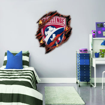 Burnt Crest - Wall Decal 36