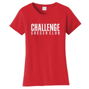 Challenge SC White - Ladies Fan Favorite Tee Thumbnail