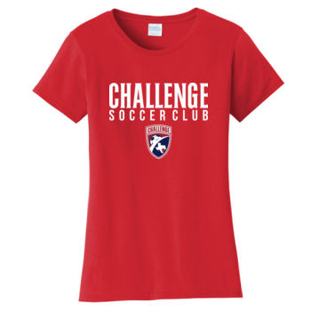 Challenge SC White w/ Crest - Ladies Fan Favorite Tee Thumbnail