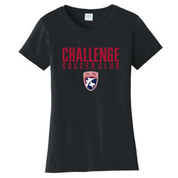 Challenge SC Red w/ Crest - Ladies Fan Favorite Tee Thumbnail
