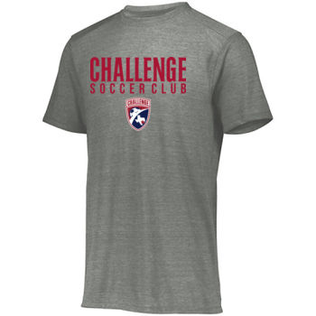 Challenge SC - Red w/ Crest - Youth Tri-Blend T-Shirt Thumbnail