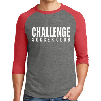 Challenge SC - White - Alternative Dugout 3/4 Sleeve Vintage 50/50 Tee Thumbnail
