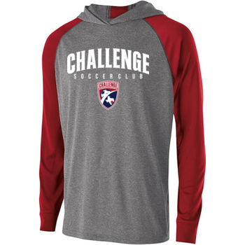 Challenge SC Arch - White w/ Crest - Holloway Youth Echo Hoodie Thumbnail