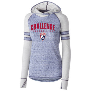 Challenge SC Arch - Red w/ Crest - Holloway Ladies Advocate Hoodie Thumbnail