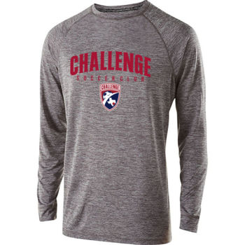 Challenge SC Arch - Red w/ Crest - Youth Holloway Electrify 2.0 Shirt Long Sleeve Thumbnail
