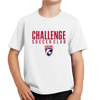 Challenge SC - Red w/ Crest - Youth Fan Favorite Tee Thumbnail