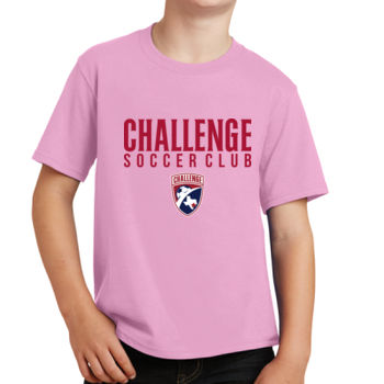 Challenge SC - Red w/ Crest - Youth Fan Favorite Tee 2 Thumbnail