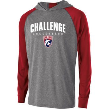 Challenge SC Arch - White w/ Crest - Holloway Adult Echo Hoodie Thumbnail